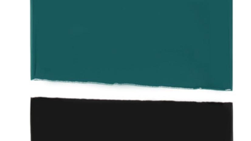 Planche de présentation Bleu Sarah