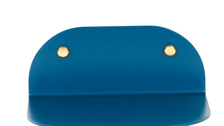 Etagère tokyo Sarah Bleu L25cm
