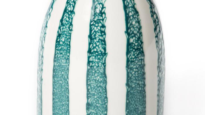 Vase Décoratif Riviera H24cm Bleu Sarah