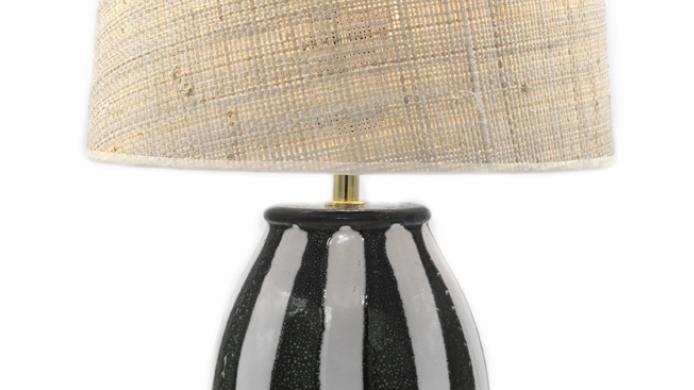 Lampe Palmaria Noir