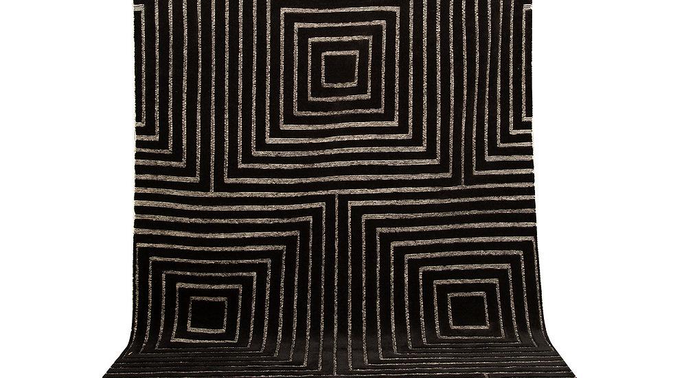 Tapis Ida Noir - 200 x 300 cm