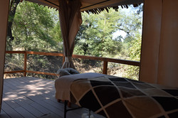 View of Limpopo River from spa