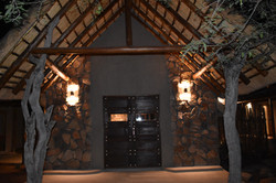 Saleda Lodge entrance
