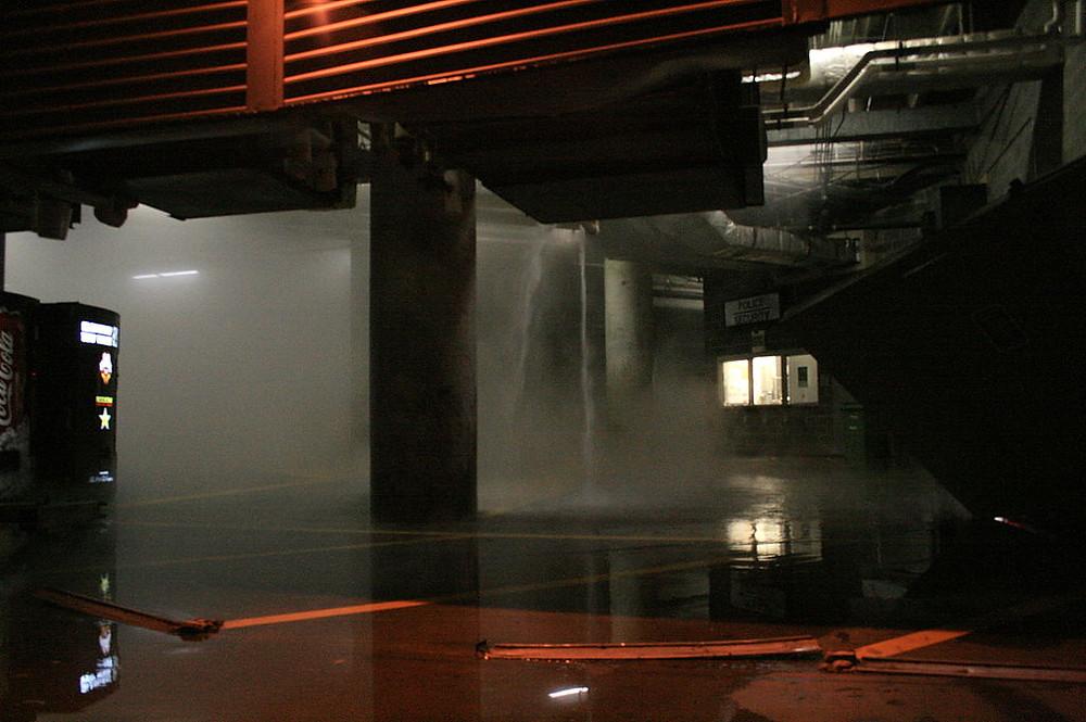 hot water heater leak in basement, mold prevention
