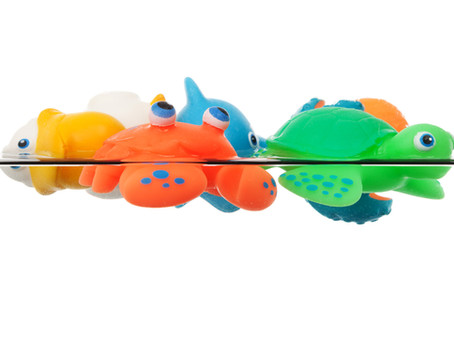 How to Remove Mold from Bath Toys (and Other Plastic Toys)
