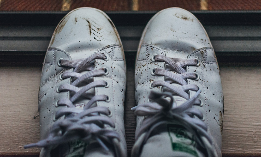moldy shoes in closet, why is mold growing on my shoes, how to prevent mold on shoes in closet