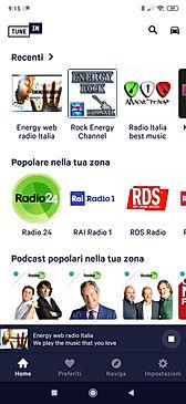 TuneIn - Ascolta Energy web radio Italia