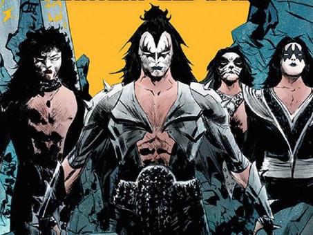 L'avventura rock dei Kiss in un fumetto