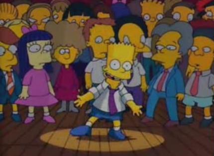 Michael Jackson e i Simpson