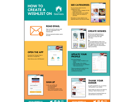 How to Create a Wishlist on Geenees for Families.