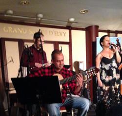 Ilessi e eu no Örebro Jazz Club
