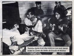Em 1997 com Toninho Horta