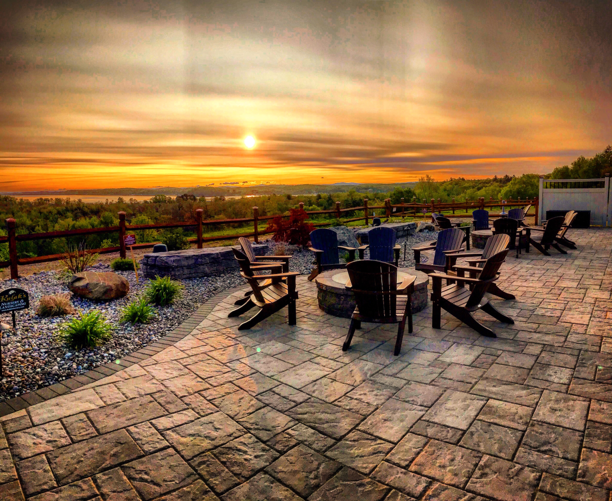 Patio Sunset