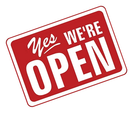 Yes, we are still OPEN.