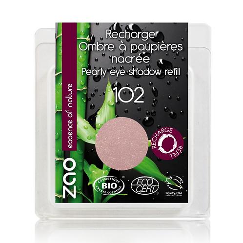 Recarga Sombra de Ojos Nacarada 102 (Beige rose)
