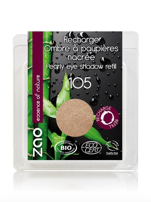 Recarga Sombra de Ojos Nacarada 105 (Sable rose)