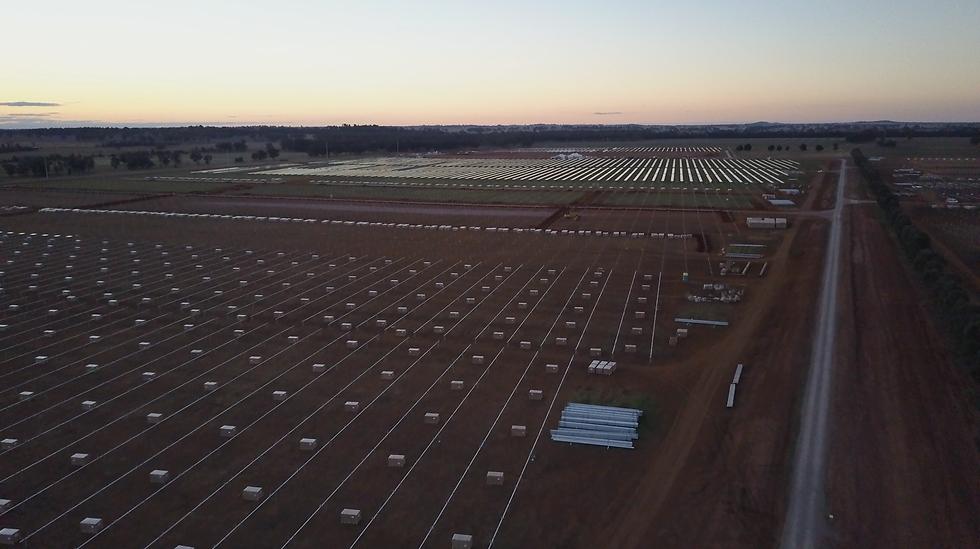 Tranex Solar Parkes Solar Farm