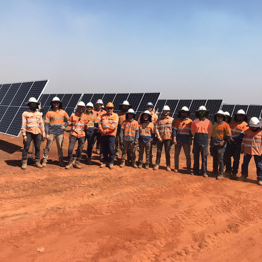 Tranex Solar Batchelor Solar Farm