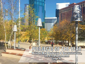 CMM article addressing an integrated National Infrastructure Plan published by the American Public W