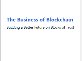 """CMM and Mazars publish new white paper, """"The Business of Blockchain: Building a Better Future o"""