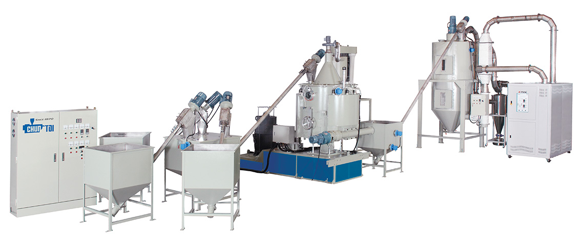 Máquina productora de láminas con fo
