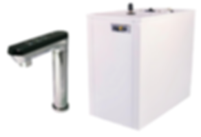 Under Sink Instant Cold, Ambient & Hot Water Dispenser With Electronic Touch Control Faucet