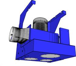 DBB-1.5,2,3,5 風車(含掛壁組件) (不含手臂)-風向示意圖