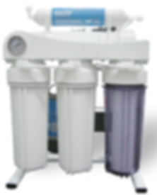 5 Stages RO Water Purifier With Pump, Pressure Gauge and Bracket