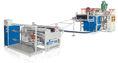 Diamond Shape Plastic Net Making Machine