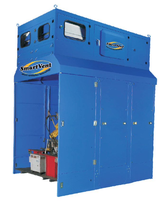 RE-500 機械手臂焊接站 (集塵,除異味)