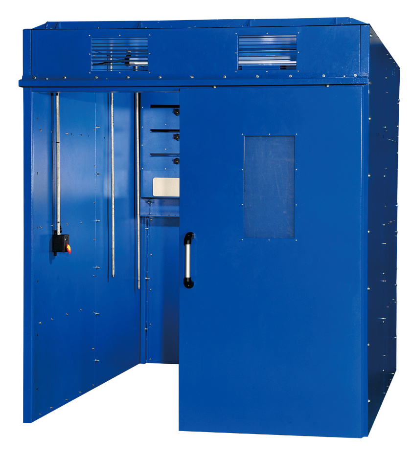 Grinding Booth