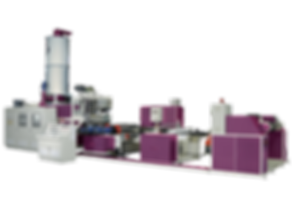 EKA-PET-S-Co-Rotary Twin Screw PET Sheet Extrusion Line