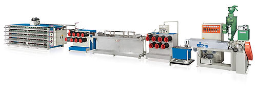 Plastic Monofilament Making Machine