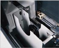 The rigid aluminum alloy #7075-T6 saw cage, offer maximum cutting ability.