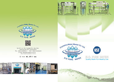 Crystaline Industrial RO systems catalog