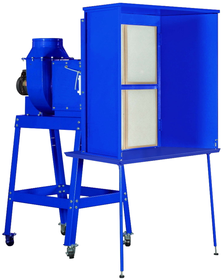 SM-02A Dry Spray Booth