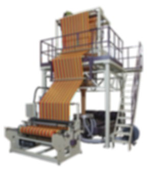 CT-TC3-3 Color Co-Extrusion Blown Film Machine