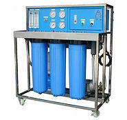 800 GPD (0.2 ton/hr) RO system for brackish water