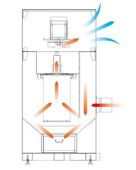 Dust Collector (Drawer Type)