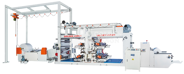 Flexographic Reel to Reel Printing Machine