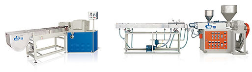 Single Or Two, Three Colour PP Straw Making Machine