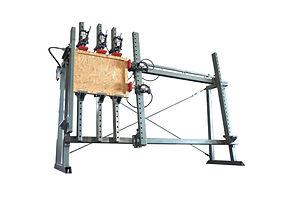 Pneumatic Wooden Door Assembler