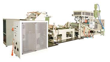 Machine pour la production sous vide de films PP/HIPS