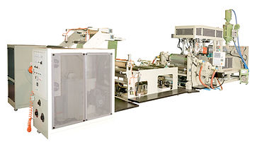 PP/ HIPS Sheet Extrusion Vacuum Forming Machine