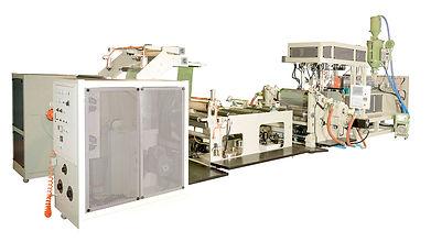 Máquina productora de láminas de formación de vacío PP/HPS