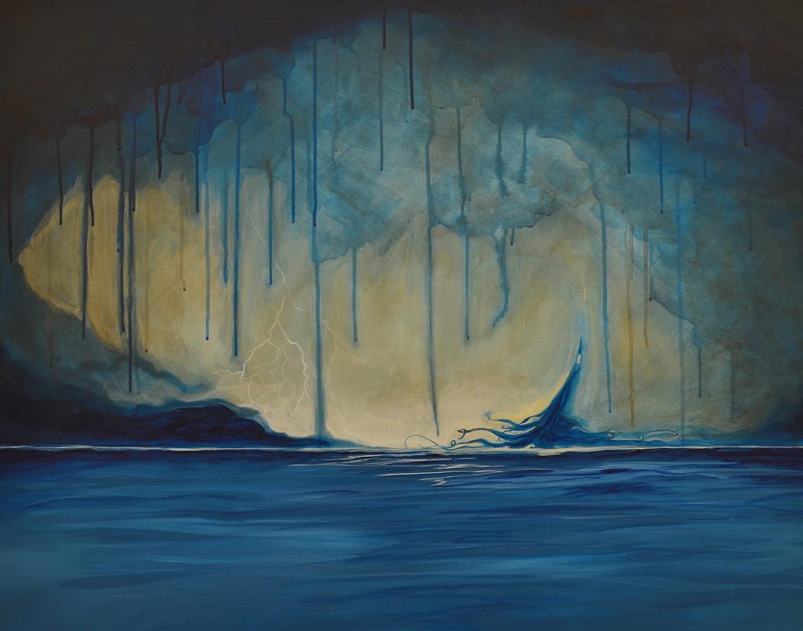 Tearful Sky (Ocean Child)