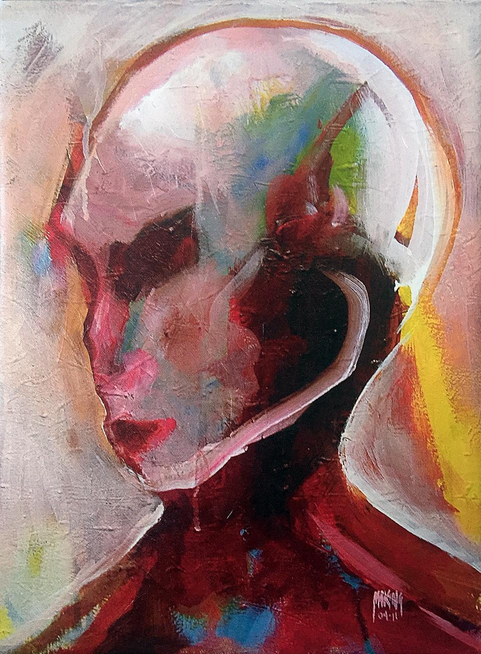 Loving the Alien - Canvas Print