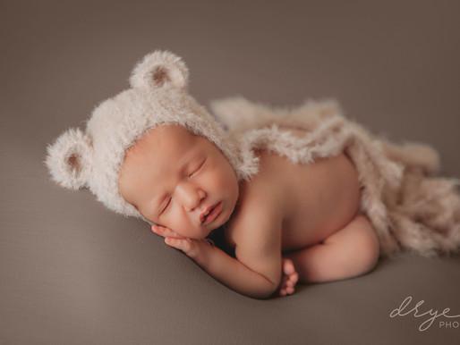 Baby Meyers | Leander, Cedar Park, Austin Newborn Photography