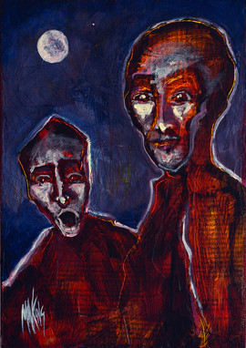 Venus & the Moon (Frightened & Enlightened)