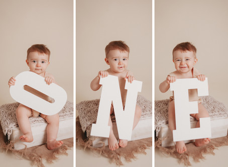 Baby Harris Cake Smash Session |  Leander, Cedar Park, Austin Baby Photographer